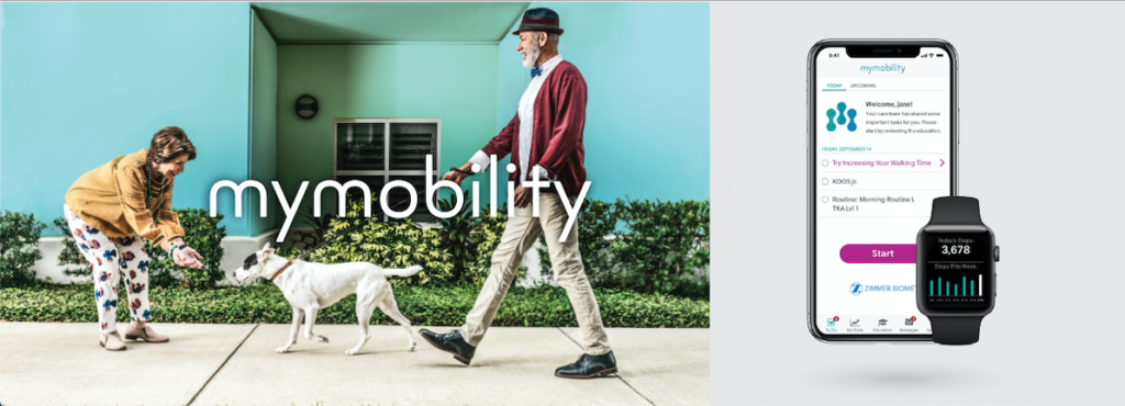 mymobility - Digital Interactive Care Plan